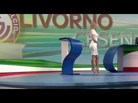 Diletta Leotta Sky Serie B 20 Febbraio 2016