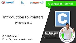 Introduction to Pointers in C |  bestdotnettraining.com
