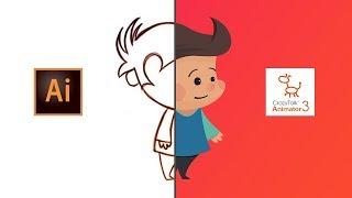 illustrating and Animating a Character   Adobe Illustrator CC   CrazyTalk Animator 3
