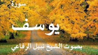 سورة يوسف بصوت الشيخ نبيل الرفاعي