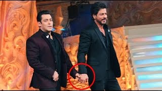 Shah Rukh Khan & Salman Khan Top Comedy Performance   Star Screen Award 20171