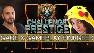 Challenge Prestige #3 : Gage et Gameplay PinkGeek!
