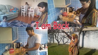 Vlog-Indian (wife/mom) tough time|Husband helping me alot|festival breakfast routine