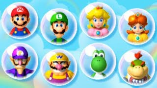 Mario Party Island Tour - All Characters