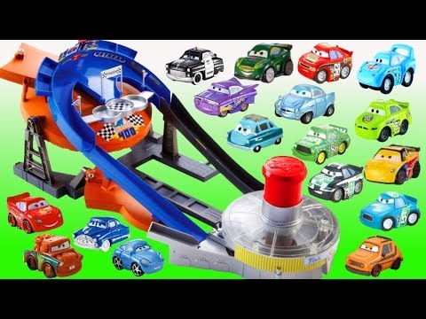 Micro Drifters Cars 2 Track Transforming Raceway Disney Cars Microdrifters Fast Flip Speedway