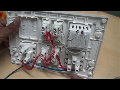 Download How To Make An Electric Extension Board Inner Wiring Connection In Hindi