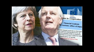 BREXIT BLOW: EU graphic shows even customs union membership WON