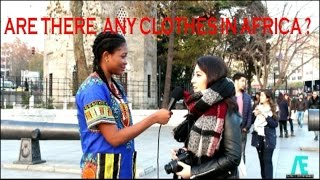 TURKISH REACTIONS: ARE THERE ANY CLOTHES IN AFRICA?