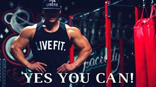 Best 25 Min Workout Music! l YES YOU CAN! l Aesthetic Gym Motivation