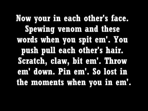 Eminem Love the Way you Lie Lyrics Part 1