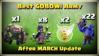 Golem+2 Healer+8 Witch+22 Bowler=Best GOBOWI Army | TH11 War Strategy #216 | COC 2018 |
