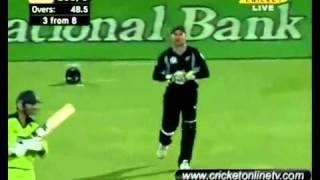 4th ODI Highlights New Zealand vs Pakistan Napier 2011 Part 9 HD