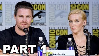 Arrow Panel Comic Con 2017 Part 1