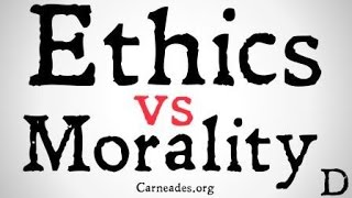 Ethics vs Morality (Philosophical Distinctions)
