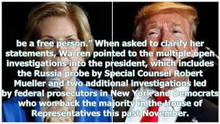 Warren says Trump