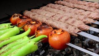 Persian Kabab Koobideh - Ground Beef And Lamb Kebabs