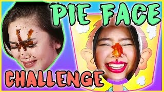 PINOY PIE FACE CHALLENGE (Ketchup Mayo Steak Sauce Cream Cheese & GROSS DIAPER on face!)