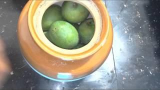 manga uppilittathu/uppilitta manga/salt mango/preserved mango