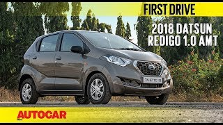 Datsun Redigo 1.0 AMT   First Drive   Autocar India