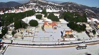 Taza. Bab Boudir et la neige- vue du ciel - 2015 -تـــــــازة. باب بودير والثلوج - رؤية جوية