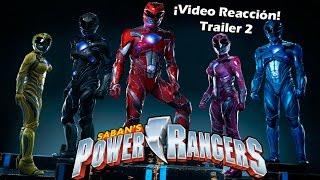 ¡Vídeo Reacción! - Power Ranger ¿Sera buena o mala?
