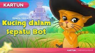 Kucing dalam Sepatu Bot Cerita Untuk Anak anak - Animasi Kartun Bahasa Indonesia