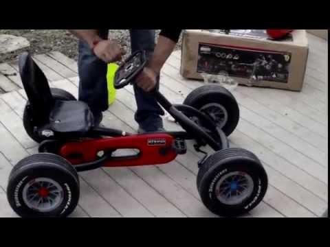 Coche a pedales Ferrari Buddy Ferrari F1