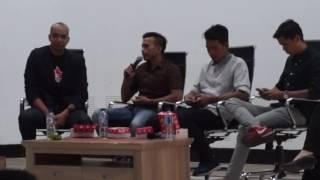 Henry Jhie berbagi pengalaman di Startup Makassar Expo