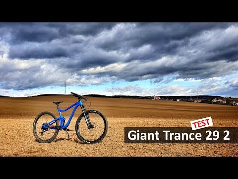 Giant Trance 29 2 Na traily s velk� mi koly a mal� m zdvihem