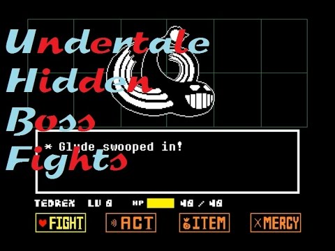 Undertale - Hidden Boss Fights
