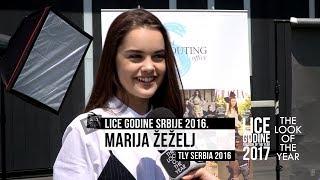 MARIJA ŽEŽELJ nakon castinga u Beogradu za LICE GODINE Srbije 2017.