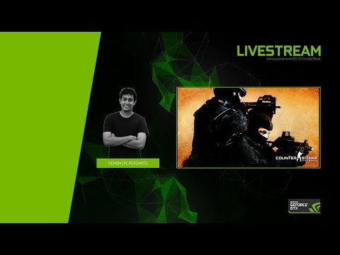 Counter Strike Global Offensive Livestream with PC Peasants | LIVE CS GO