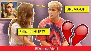 Jake Paul & Erika Costell ( BREAKUP! ) 100% PROOF! #DramaAlert Marina Joyce Case SOLVED!