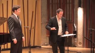 Guildhall Masterclass: Gerald Finley Vocal Masterclass - Thomas Atkins