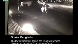 Live footage of Extrajudicial Killing by Bangladesh Police, the Real Face of Awami League