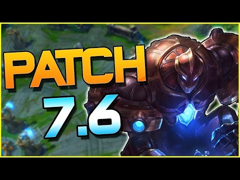 QUINN R 60% LESS DAMAGE? WARLORD'S BLOODLUST CHANGED? & MORE! - Patch 7.6 | League of Legends