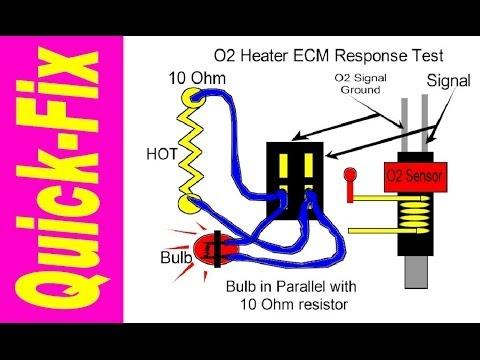 3 O2 simulator fix for P0420 Check Engine Light video