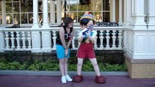 Meeting Pinocchio!