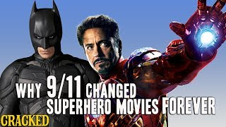 Why 9/11 Changed Superhero Movies Forever (Iron Man, The Dark Knight)
