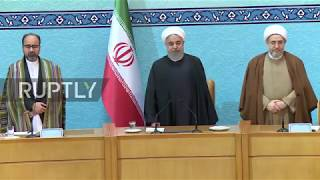 Iran: Rouhani warns supporters of US and Israel will