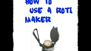 roti maker bangla vedio,how to make it just 1 min.....
