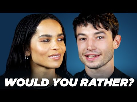 Xxx Mp4 The Cast Of Fantastic Beasts The Crimes Of Grindelwald Play Would You Rather 3gp Sex