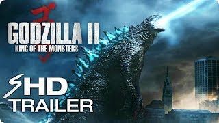 GODZILLA 2: King of the Monsters Teaser Trailer #1 (2019) Action Movie [HD] Concept