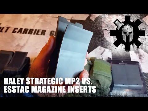 Haley Strategic MP2 vs. ESSTAC Magazine Inserts