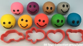 Play & Learn Colours with Playdough Smiley Face Fun and Creative for Kids