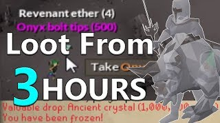 Loot From 3 Hours Camping Revenant Monsters [Old School Runescape] [Rev Caves]