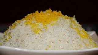 How To Make Persian Steamed Rice - آموزش درست کردن برنج آبکش