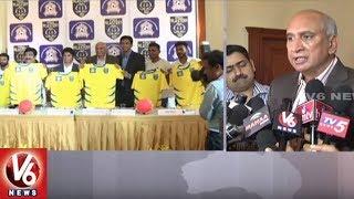 Kerala Blasters Partners With Hyderabad Football Academy | V6 News