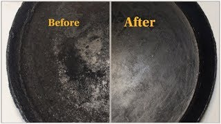 How To Clean Tawa:Tip:Cleaning Oil Layer formed Tawa/Dosa Pan-Easy Way To Clean Tawa In 5 minutes
