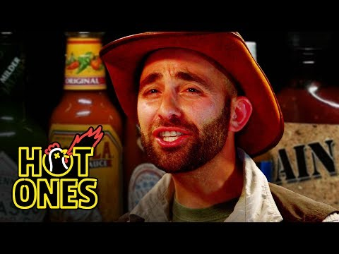 Xxx Mp4 Coyote Peterson Gets STUNG By Spicy Wings Hot Ones 3gp Sex